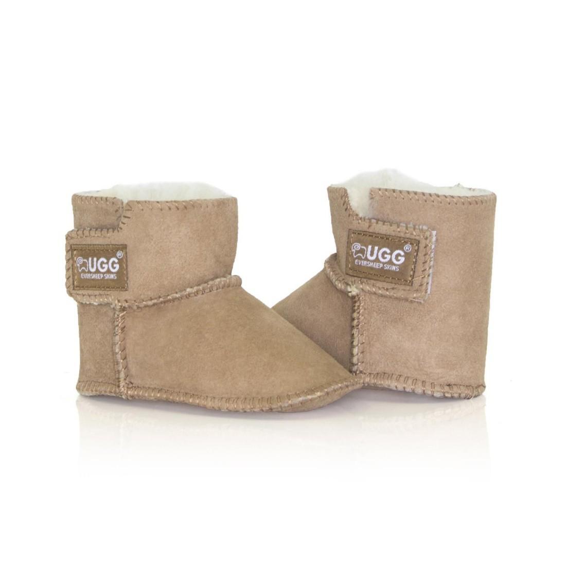 UGG Baby Erin Bootie Infant Boots - Chestnut - M