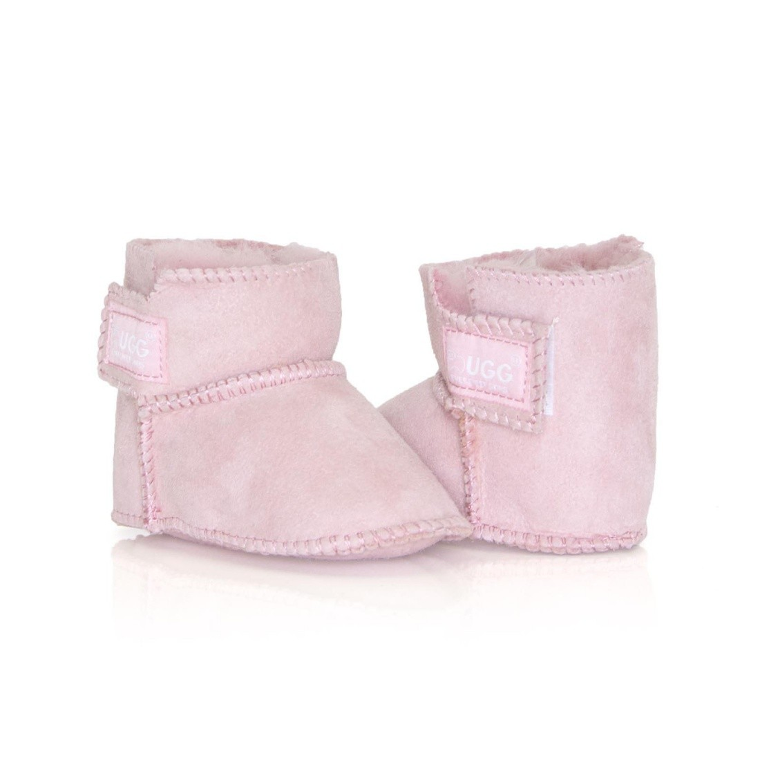 UGG Baby Erin Bootie Infant Boots - Pink - S