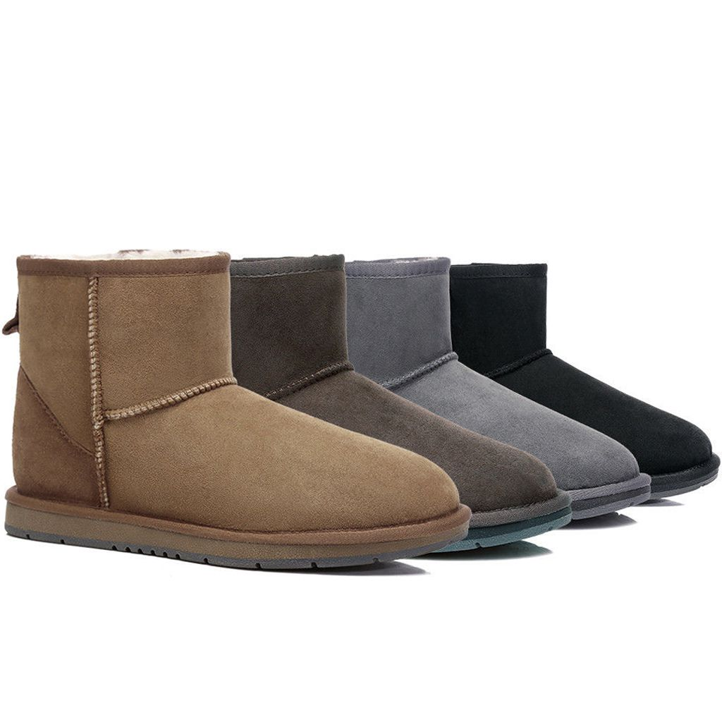 UGG boots, unisex mini ankle boots