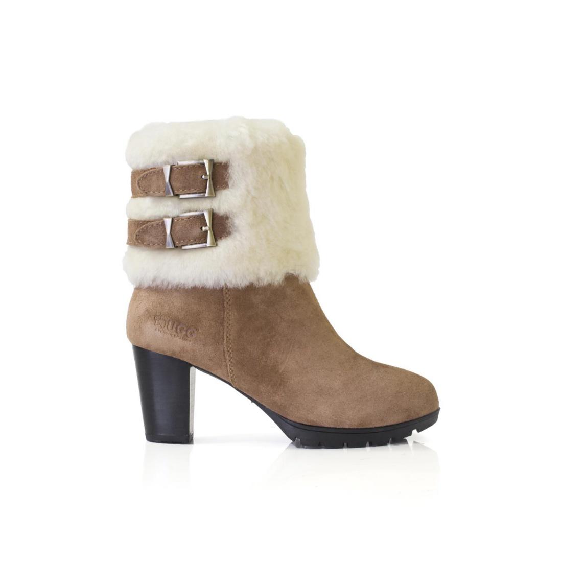 UGG High Heel Boots - Chestnut - AU Women 5 / Men 3