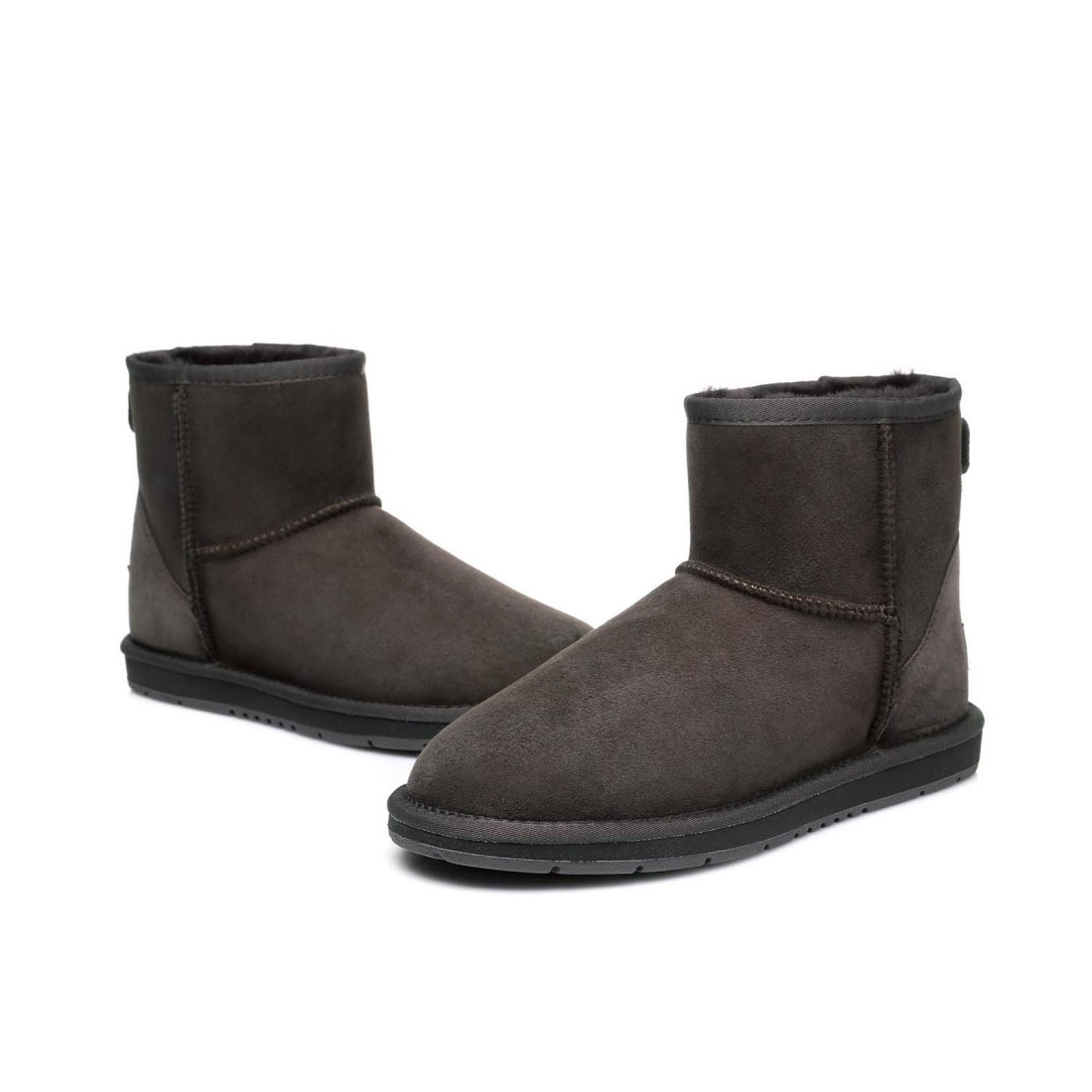 UGG Ankle Boots Mini - Chocolate - AU Women 6 / Men 4