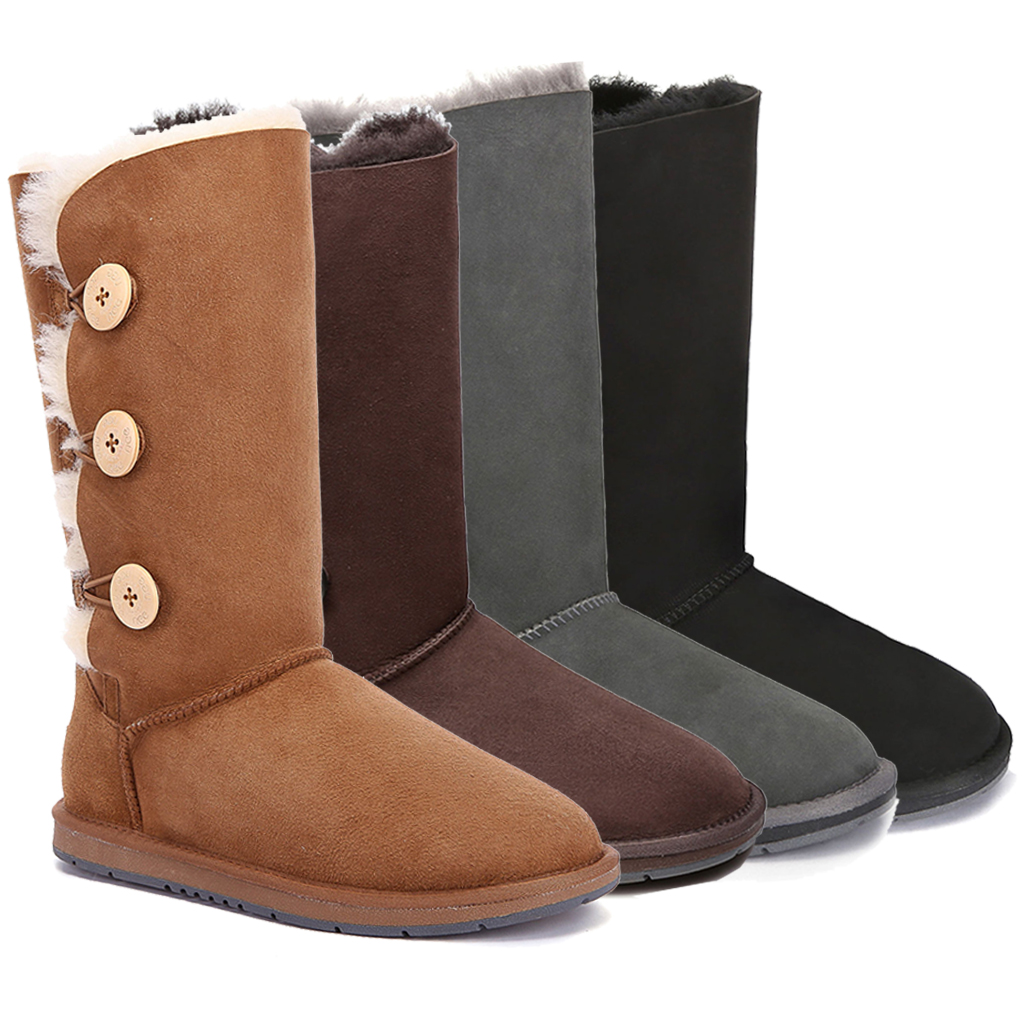 UGG boots, classic button tall unisex