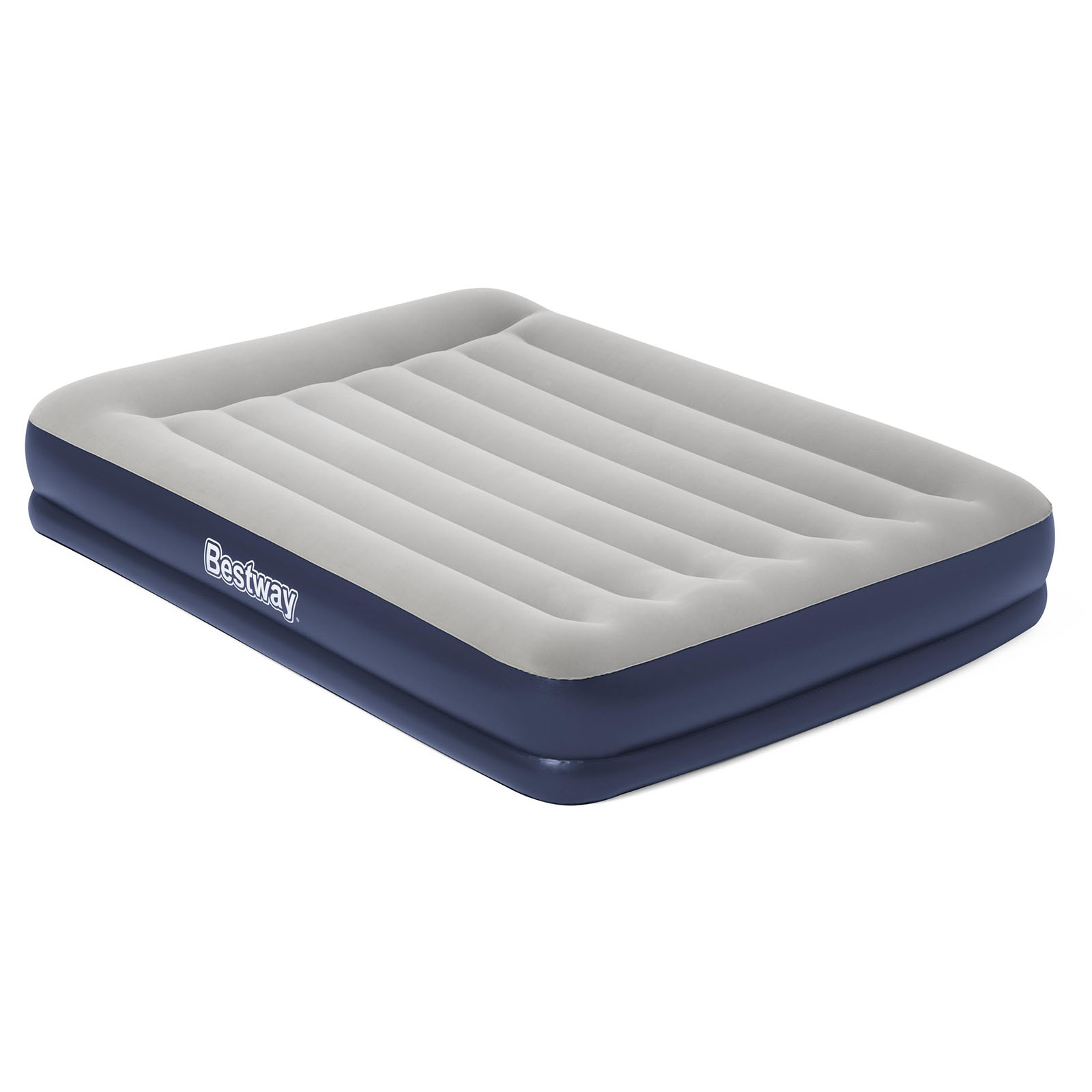 Bestway Air Bed Beds Inflatable Mattress Queen Size Sleeping Mat Built-in Pump