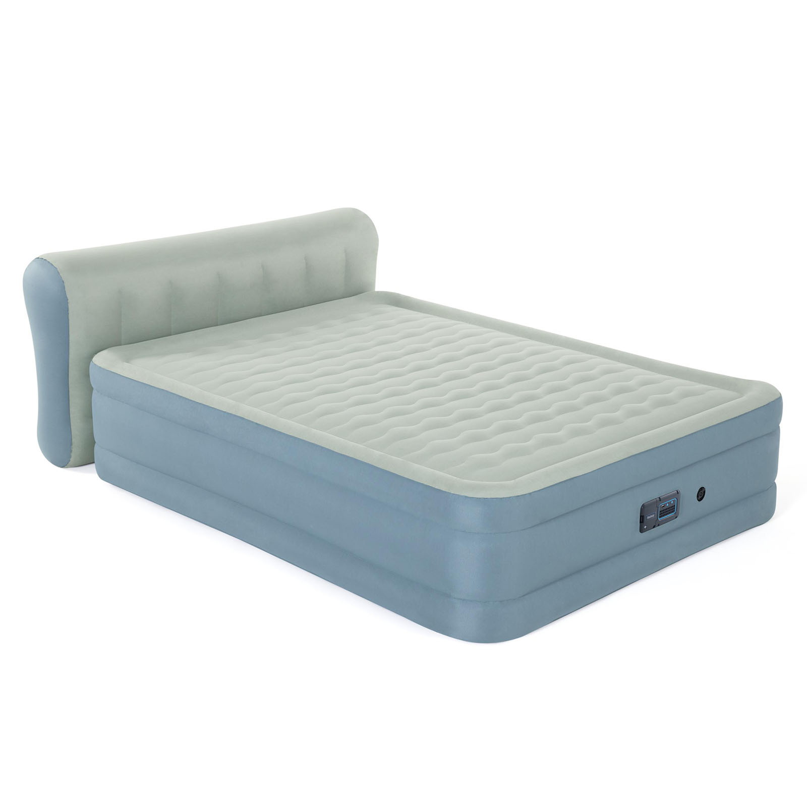 Bestway Air Bed Beds Queen Mattress Airbed Inflatable Fortech Mat Built-in Pump