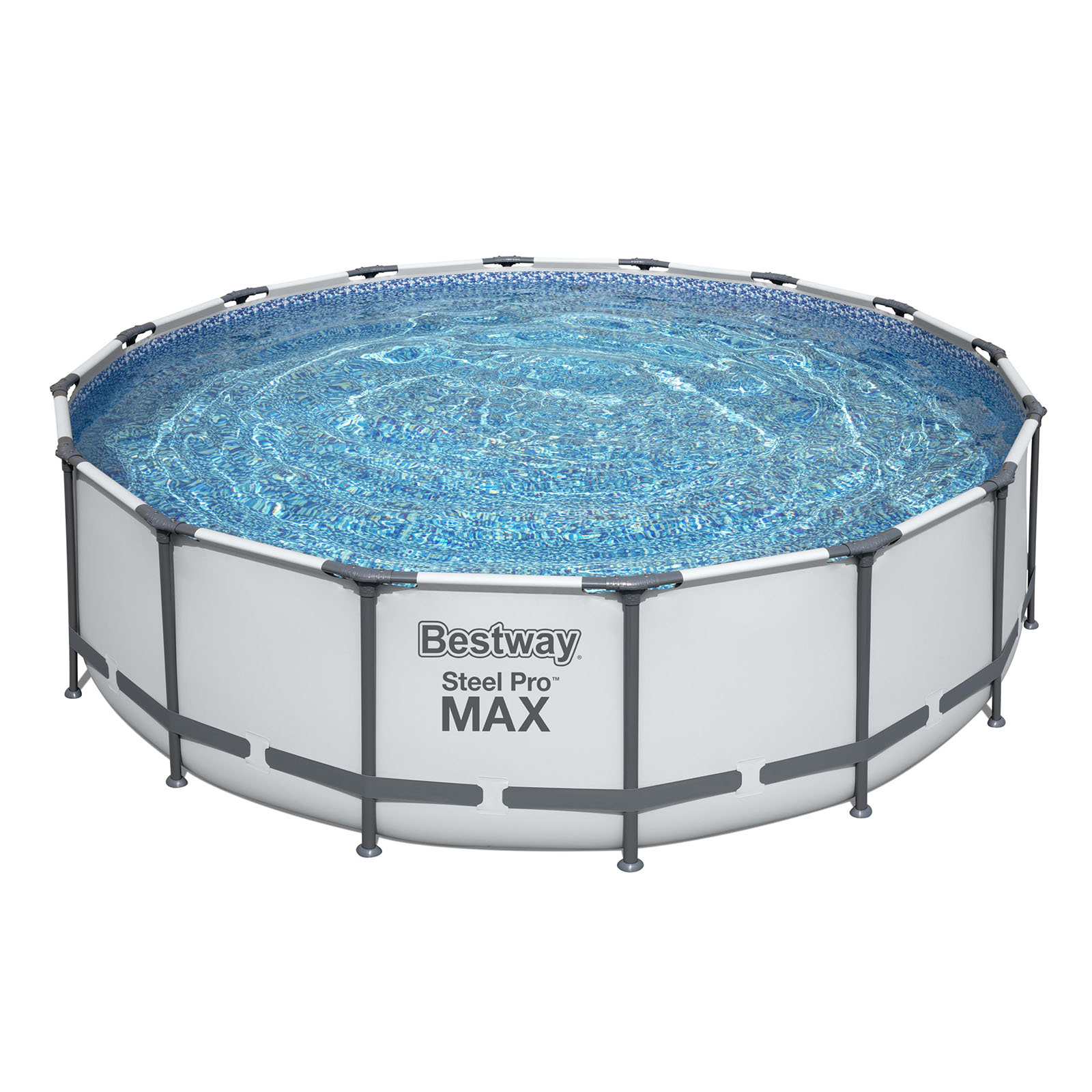 Bestway Above Ground Pool Swimming Pool Steel Pro MAX 4.88m x 1.22m Filter Pump