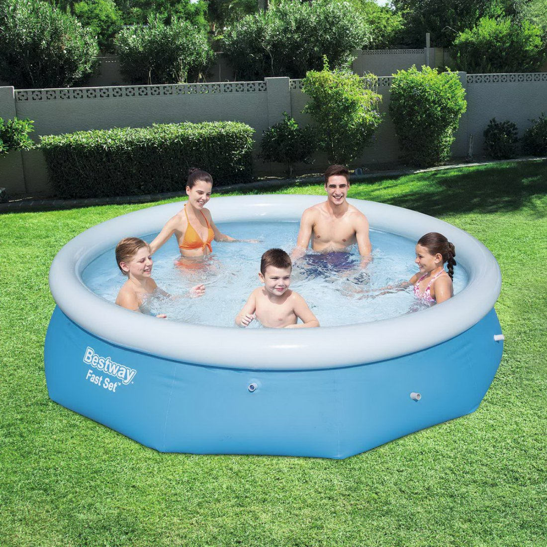 Bestway Above Ground Fast Set Round Swimming Pool 3.05m x 76cm