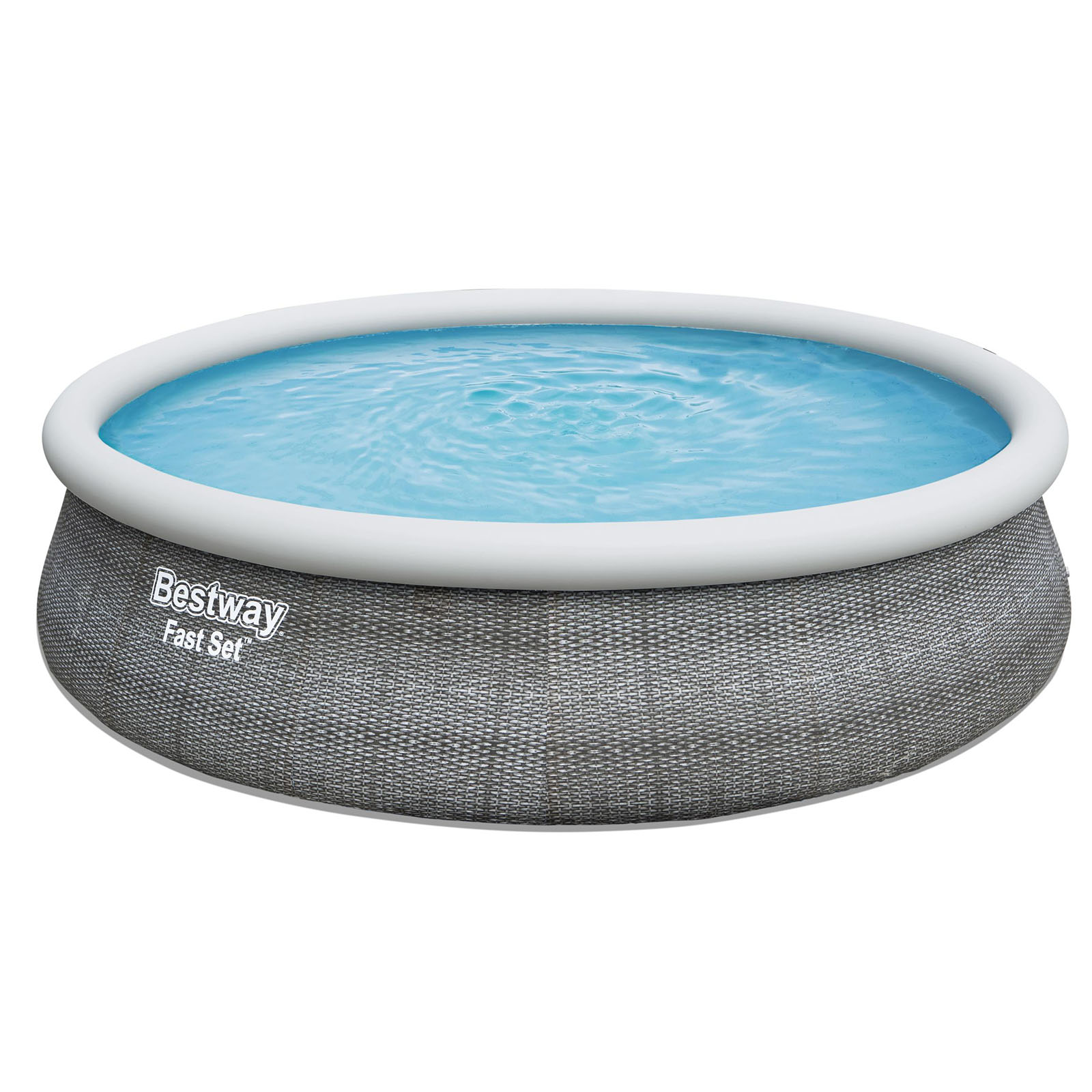 Bestway Above Ground Pool Swimming Pool Fast Set Splash Splish Pools 4.57m