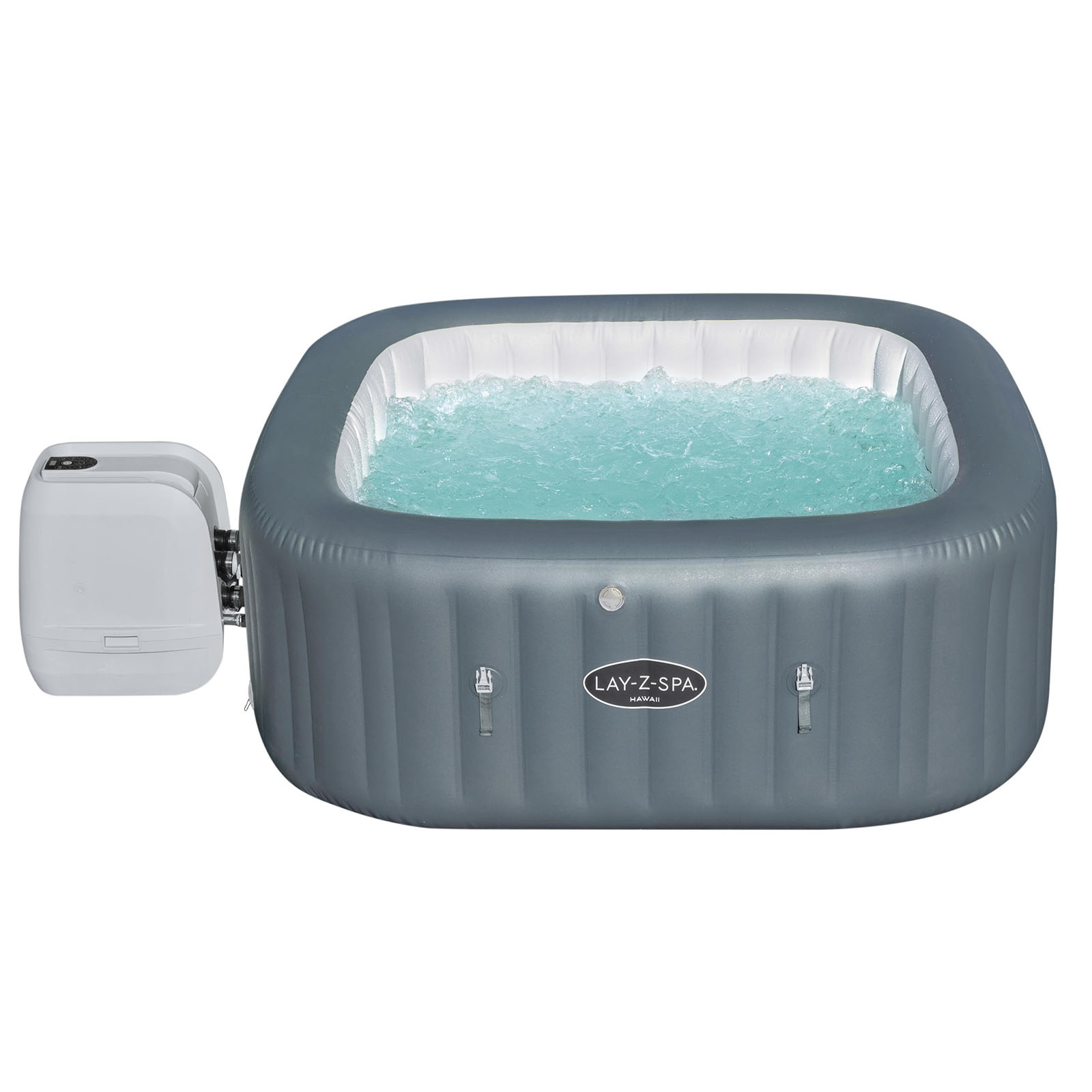 Bestway Lay-Z-Spa HAWAII - Heated Hot Tub Spa Massage - 140 Jets - 4-6 People