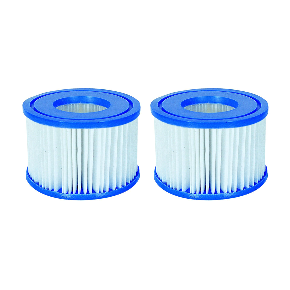 2 x Bestway Lay-Z-Spa Accessories - Replacement Filter Cartridge Type VI 58323