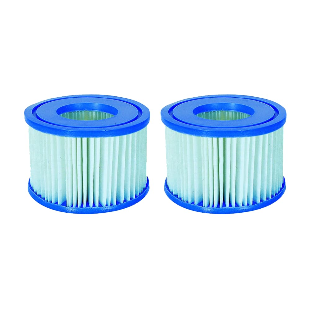 2 x Bestway Lay-Z-Spa Accessories - Anti-Microbial Replacement Filter Cartridge Type VI 58477