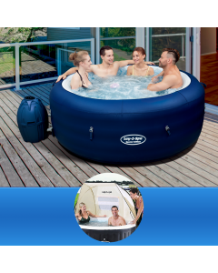 Bestway Lay-Z Spa SAINT TROPEZ + Shelter