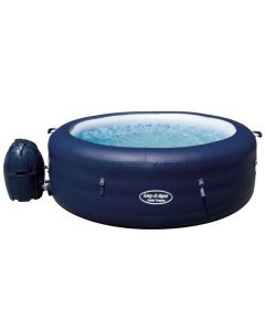 Bestway Lay-Z-Spa SAINT TROPEZ - As seen on TV - Heated Hot Tub Spa Massage - Built in LED - 87 Jets - 4 to 6 People