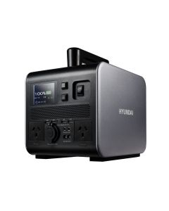 Hyundai 300W / 600W max Lithium Power Station AC/DC - 25Ah Battery