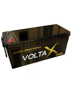 VoltaX 12V 200Ah Lithium Battery PLUS - LiFePO4 - Fast Charge - Latest most efficient tech