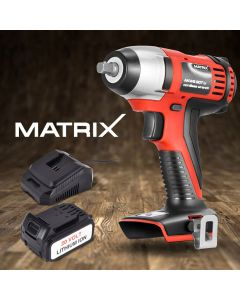 NEW Matrix 20V Cordless Impact Wrench Power Tool 4.0ah Lithium Battery Charger