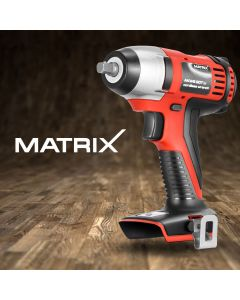 """Matrix Cordless Impact Wrench 3/8"""" Torque 20V Battery Power Tool Skin Only"""