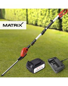 Matrix 20V Cordless Hedge Trimmer Head Attachment 4.0ah Lithium Battery Charger