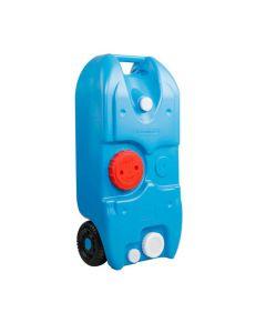 40L Portable Wheel Water Tank Blue