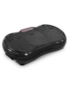 600W Vibrating Plate with Roller Wheels - Black