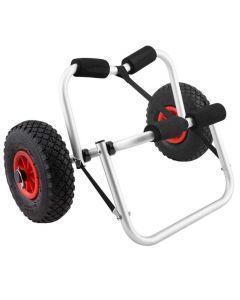 Aluminium Kayak Trolley 100kg Wheels Collapsible