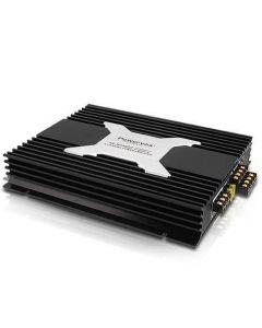 New PowerVox 5600 Watt 4 Channel Car Amplifier Black