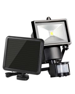 5W COB LED Solar Motion Detection Sensor Security Light