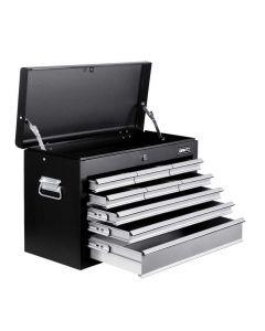 9 Drawers Tool Box Chest Black/Grey