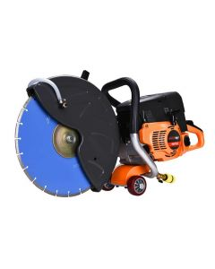 NEW 75CC Petrol Concrete Cut Off Saw Wet Demo Cutter Demolition Road Brick