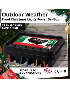 Medium Weather Proof Dri Power Box Christmas Outdoor LED Transformer Container
