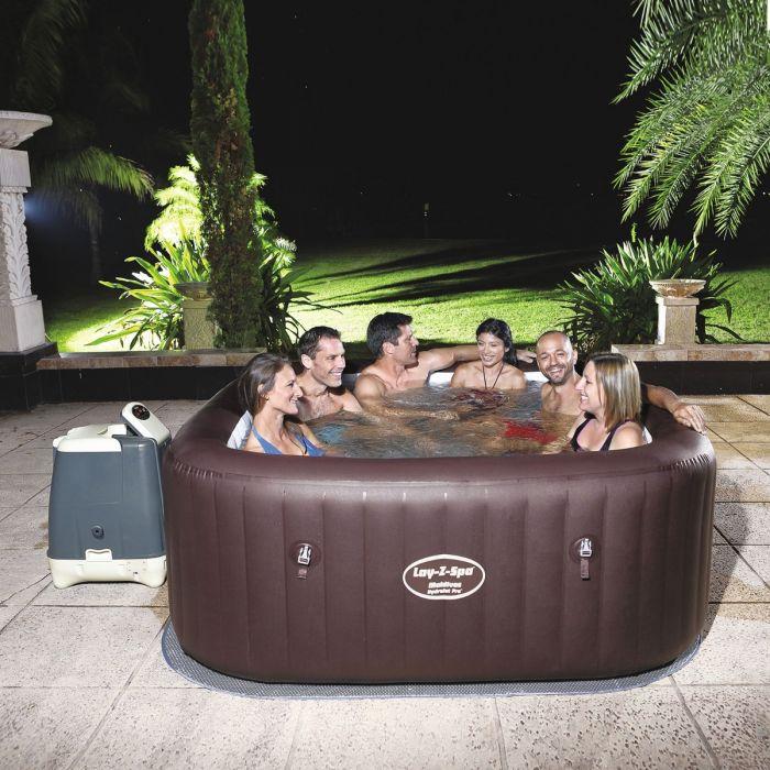 Gigantic Bestway Lay Z Spa Maldives Heated Hot Tub Spa Massage