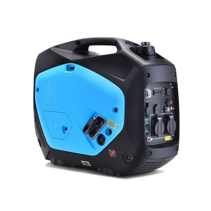 BLUE Gentrax Inverter Generator 2.2KW Remote Start