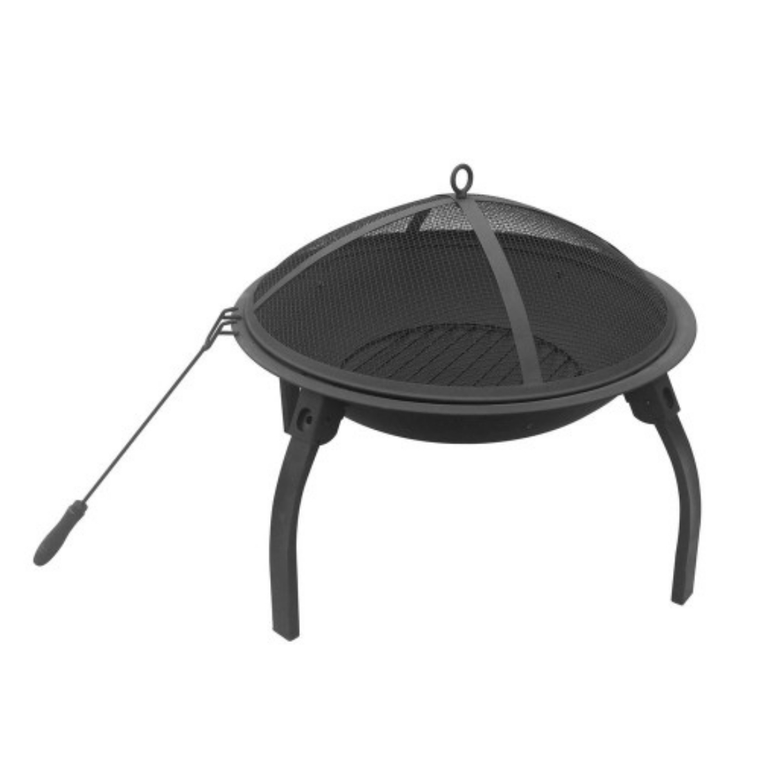 BEST SELLER! 22 Inch Portable Foldable Outdoor Fire Pit Fireplace Camping or Backyard