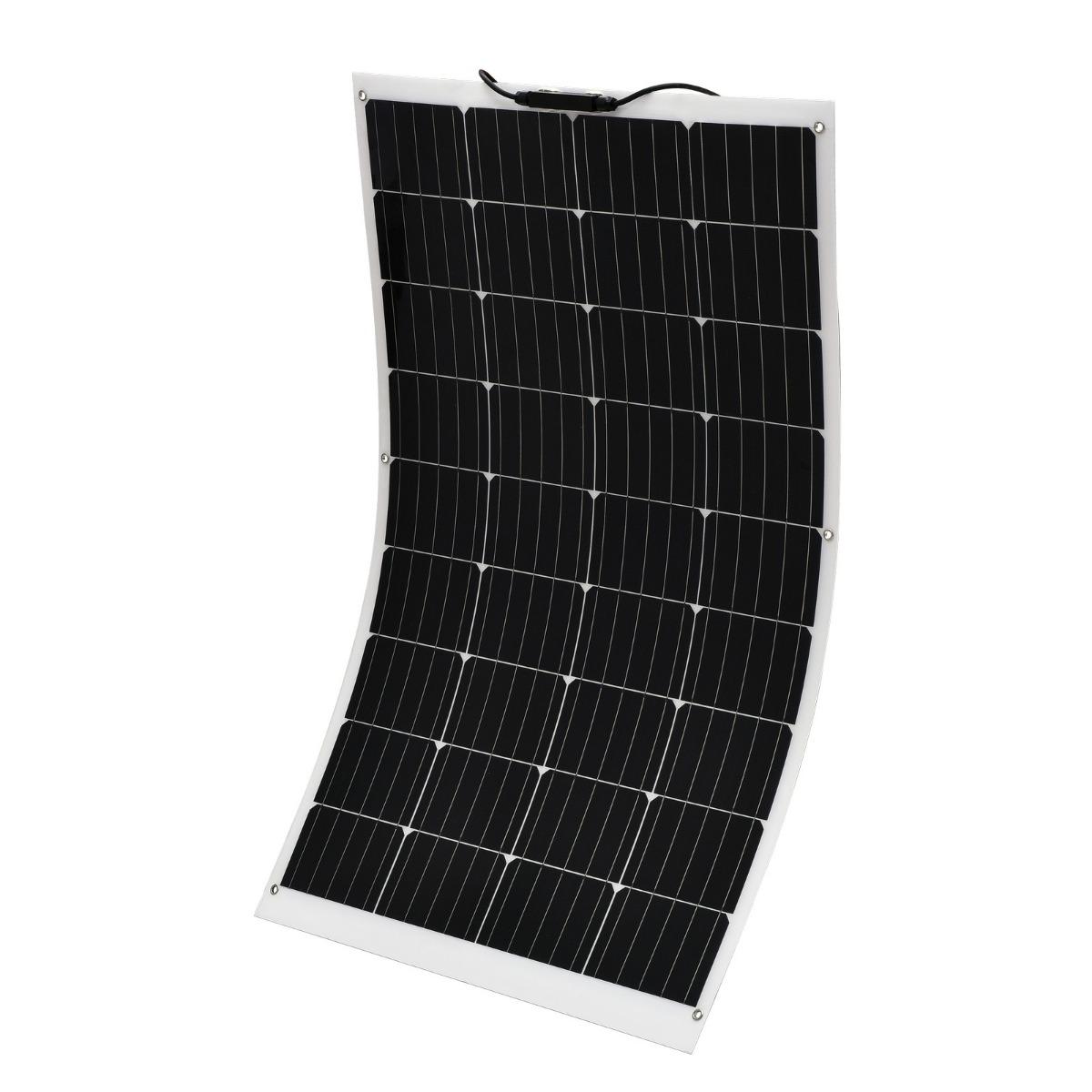 180W 12V Flexible Solar Panel Boat Caravan Camping Power Mono Charging Kit