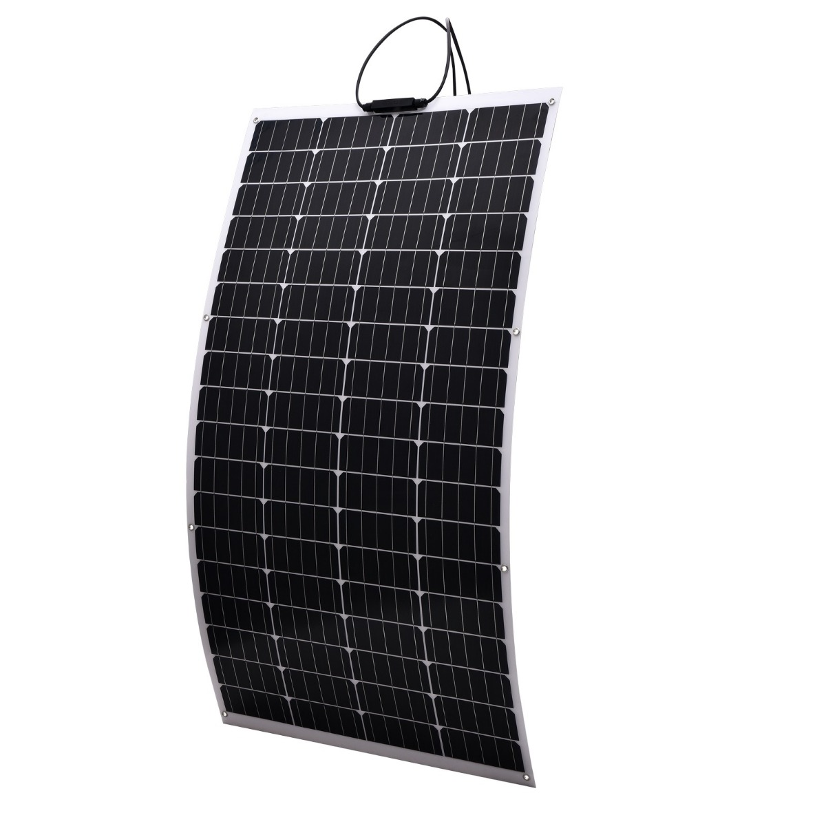 160W 12V Flexible Solar Panel Boat Caravan Camping Power Mono Charging Kit