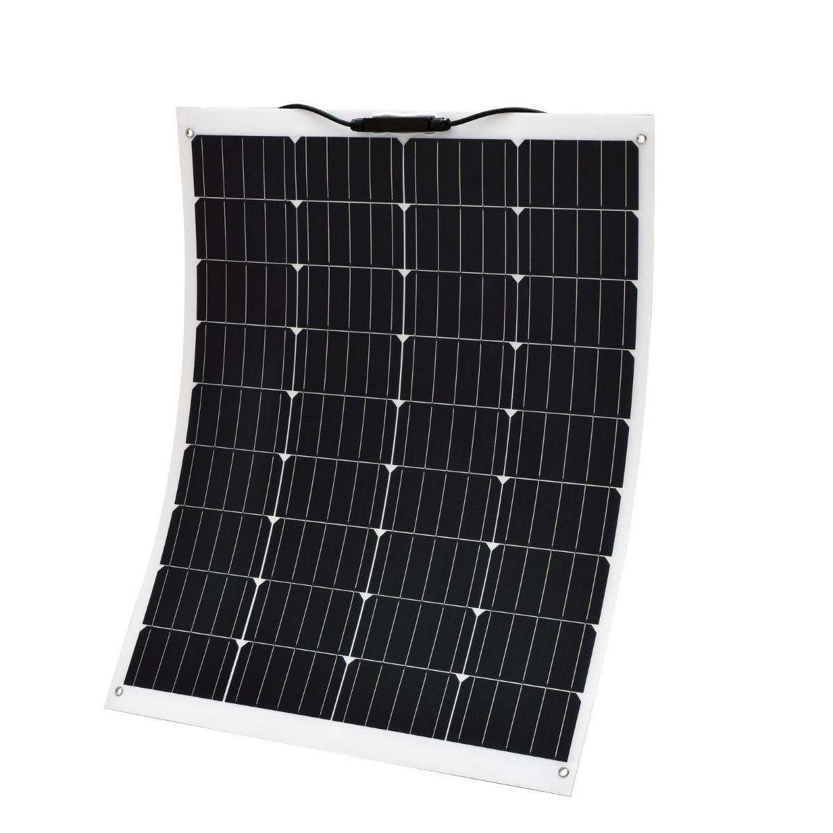 140W 12V Flexible Solar Panel Boat Caravan Camping Power Mono Charging Kit