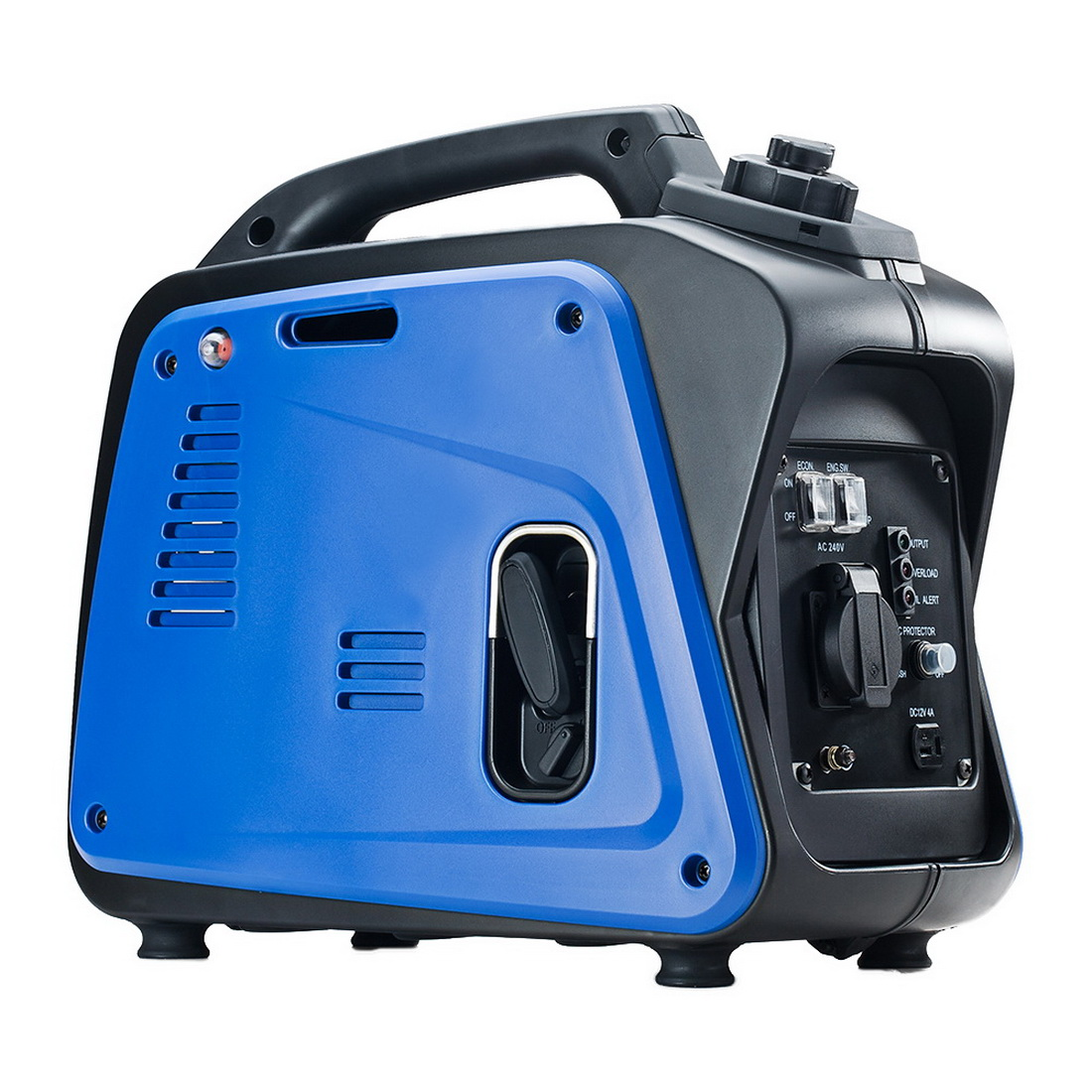 GenTrax 1.2kW Pure Sine Wave Petrol Inverter Camping Generator