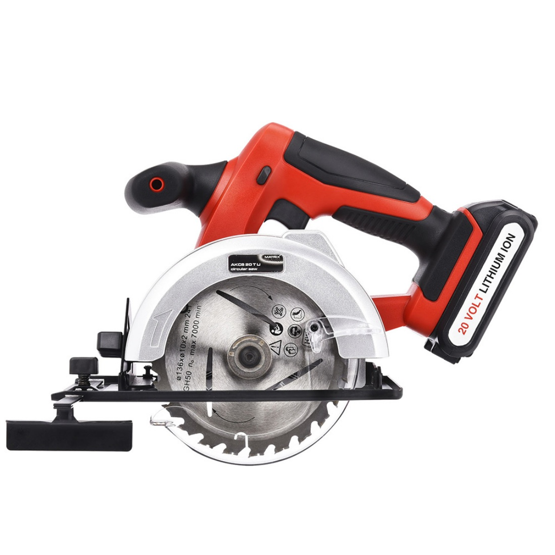 New Matrix 20V Cordless Circular Saw Li-Ion Lithium Electric Power Tool