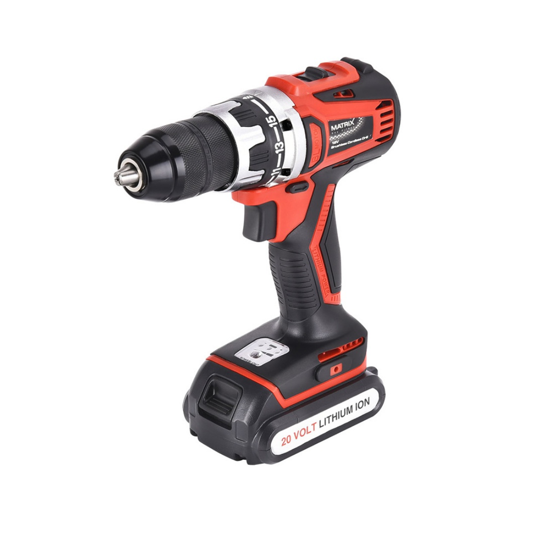 New Matrix 20V Brushless Cordless Drill Li-Ion Lithium Electric Power Tool