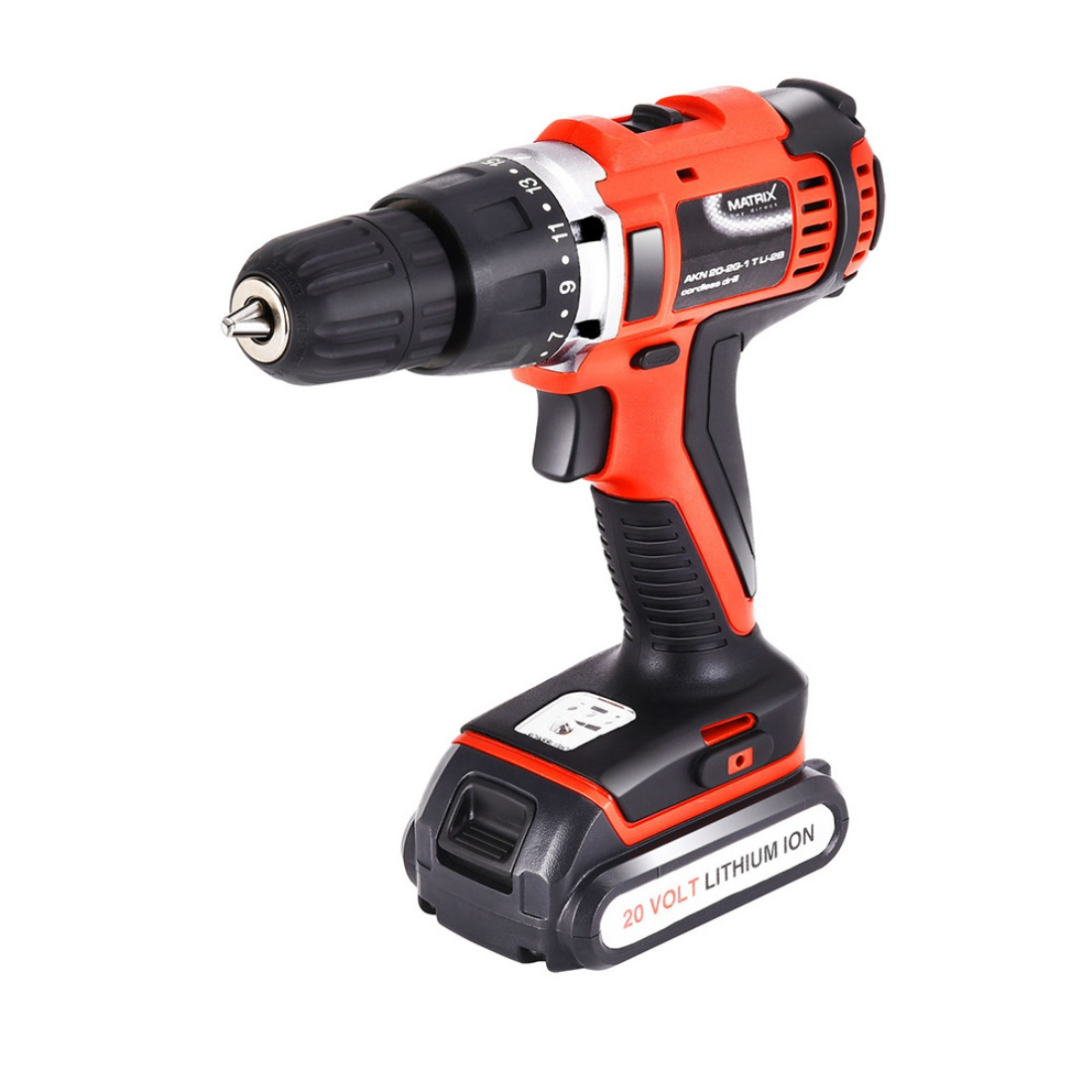 New Matrix 20V Cordless Drill Li-Ion Lithium Electric Power Tool