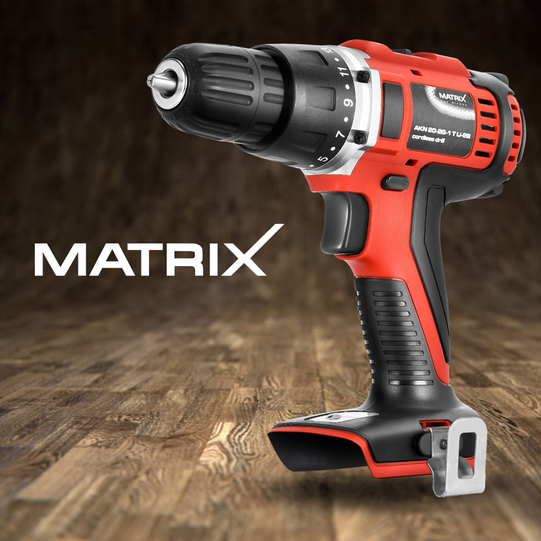 Matrix 20V Cordless Drill Li-Ion Lithium Electric Power Tool Skin Only