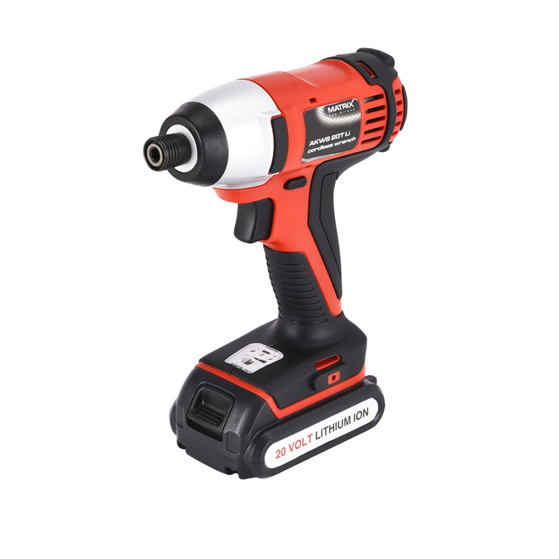New Matrix 20V Cordless Impact Driver Li-Ion Lithium Electric Power Tool