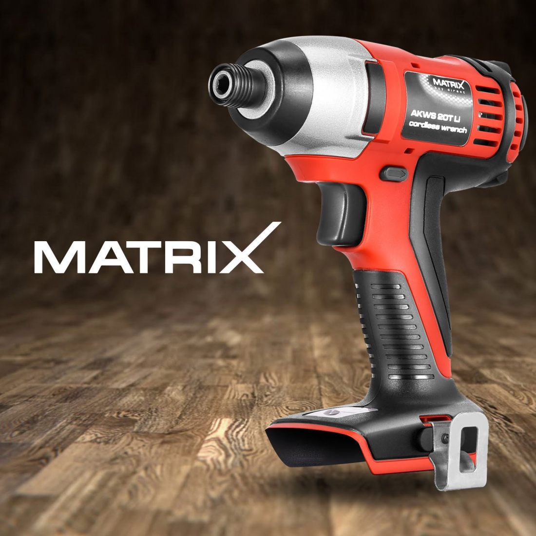 Matrix 20V Cordless Impact Driver Power Tool Li-Ion Battery Charger Skin Only