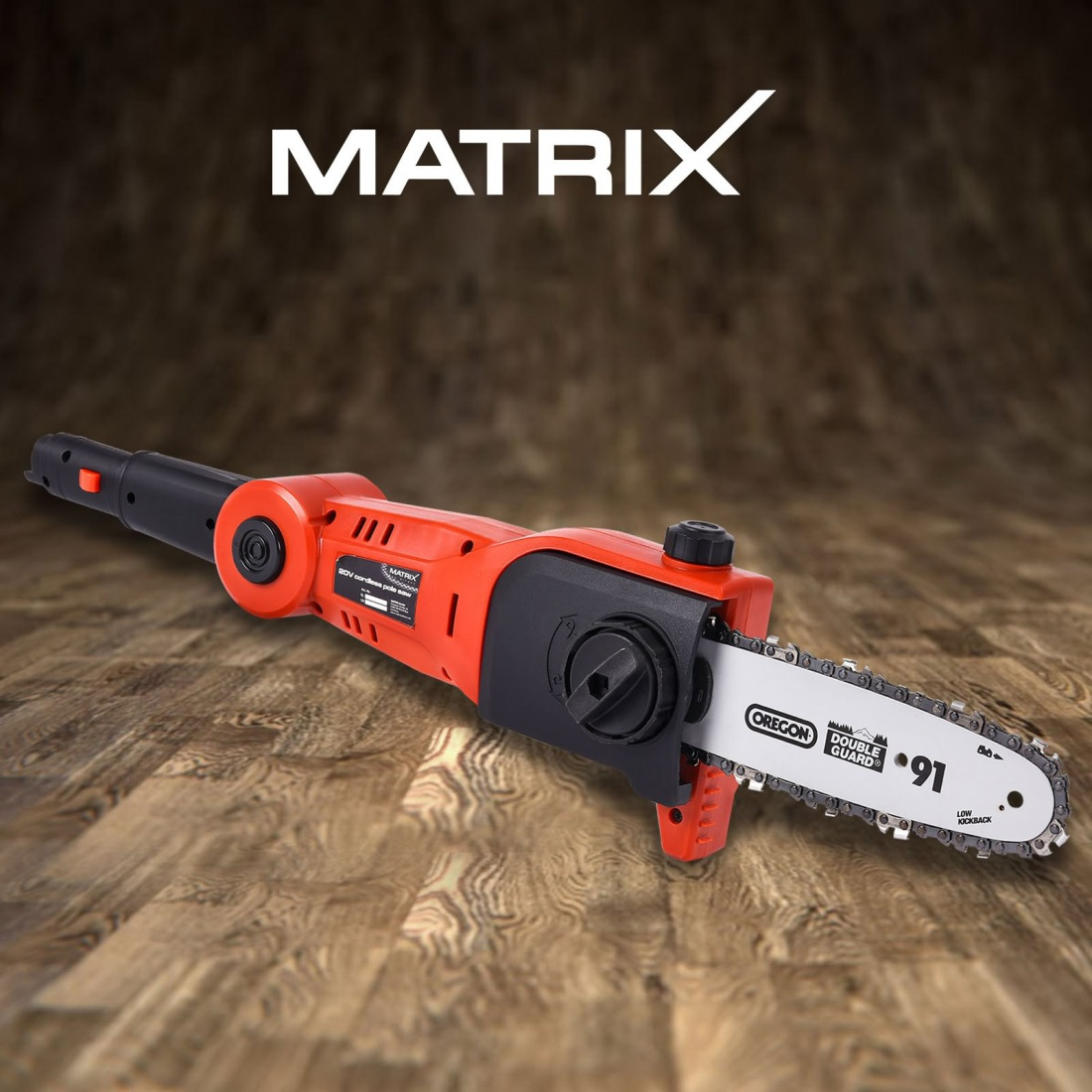Matrix 20V Pole Cordless Chainsaw Electric Pruner Chain Saw Head Skin Only