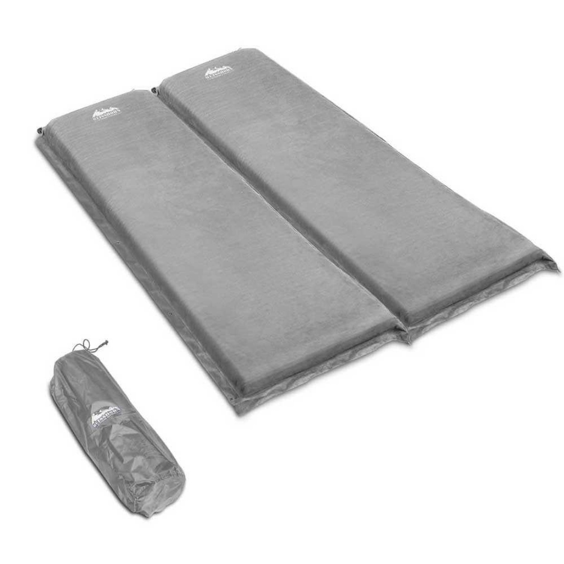 10cm Thick Self Inflating Camp Mat Double