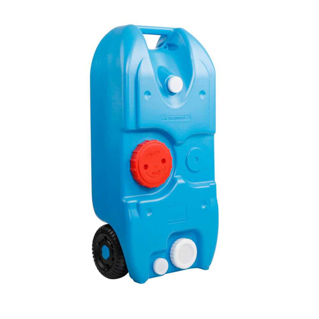 40L Portable Wheel Water Tank Blue
