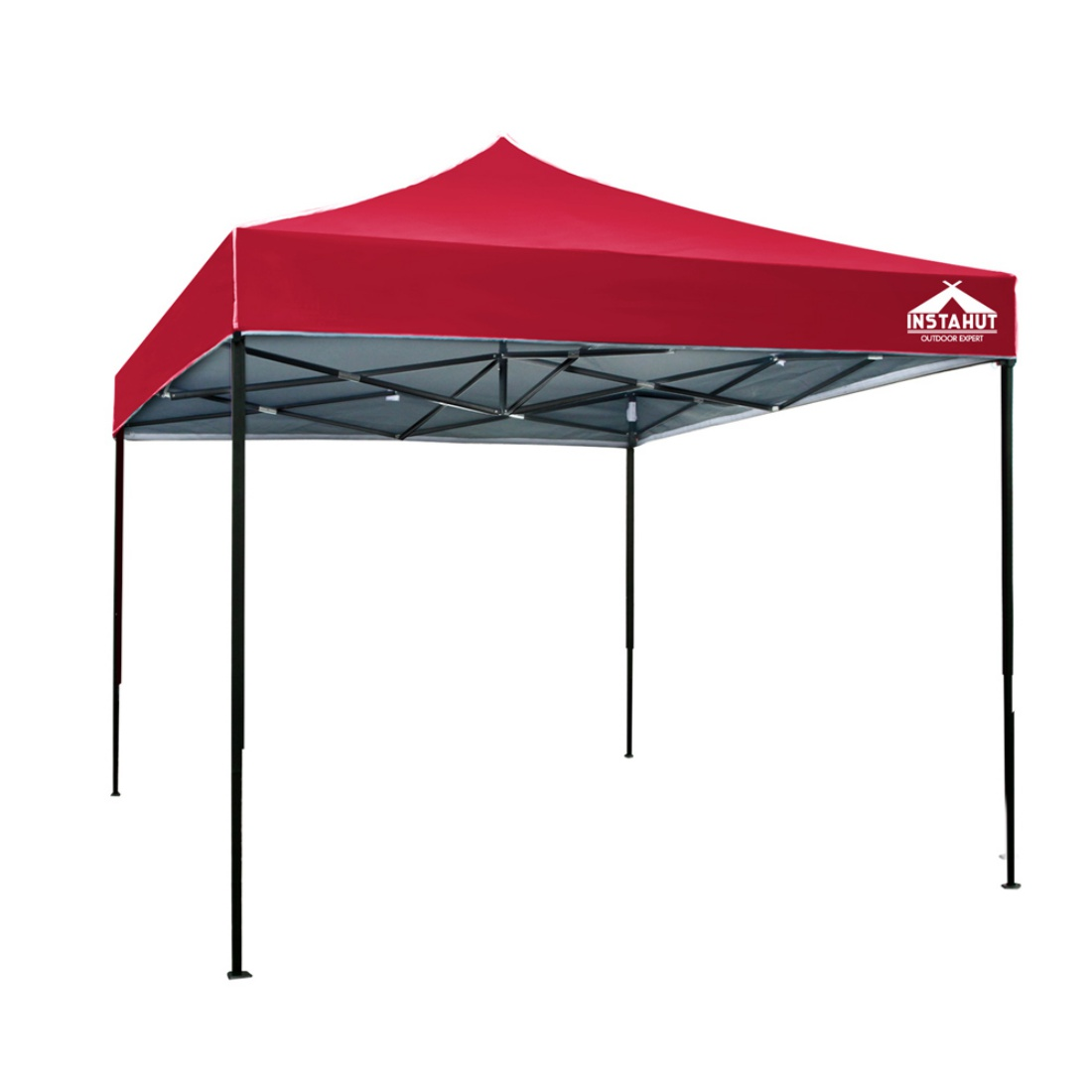 3m x 3m Pop-up Garden Outdoor Gazebo Red