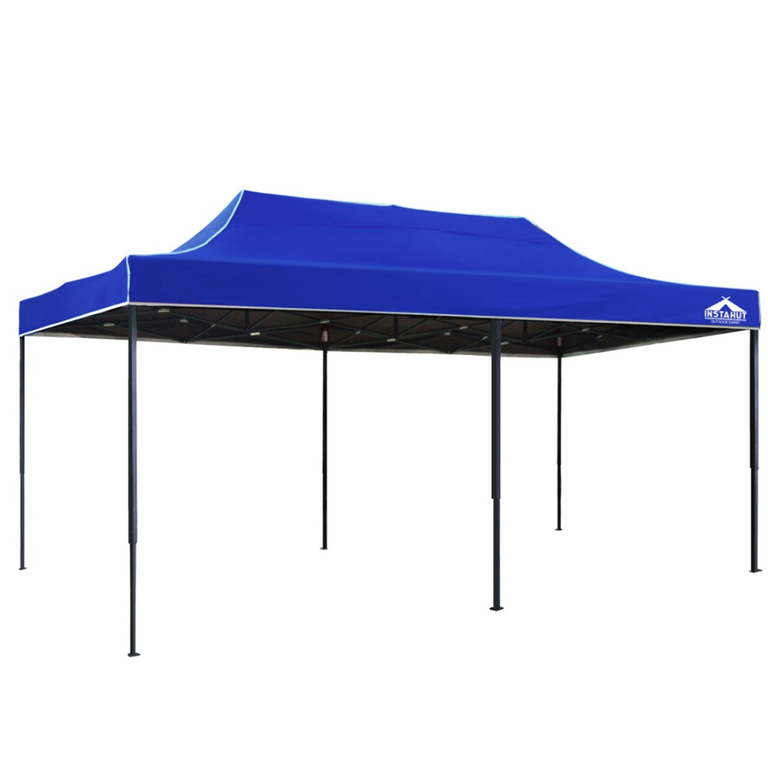 INSTAHUT 3m x 6m Pop-up Gazebo Garden Canopy Outdoor Marquee Blue