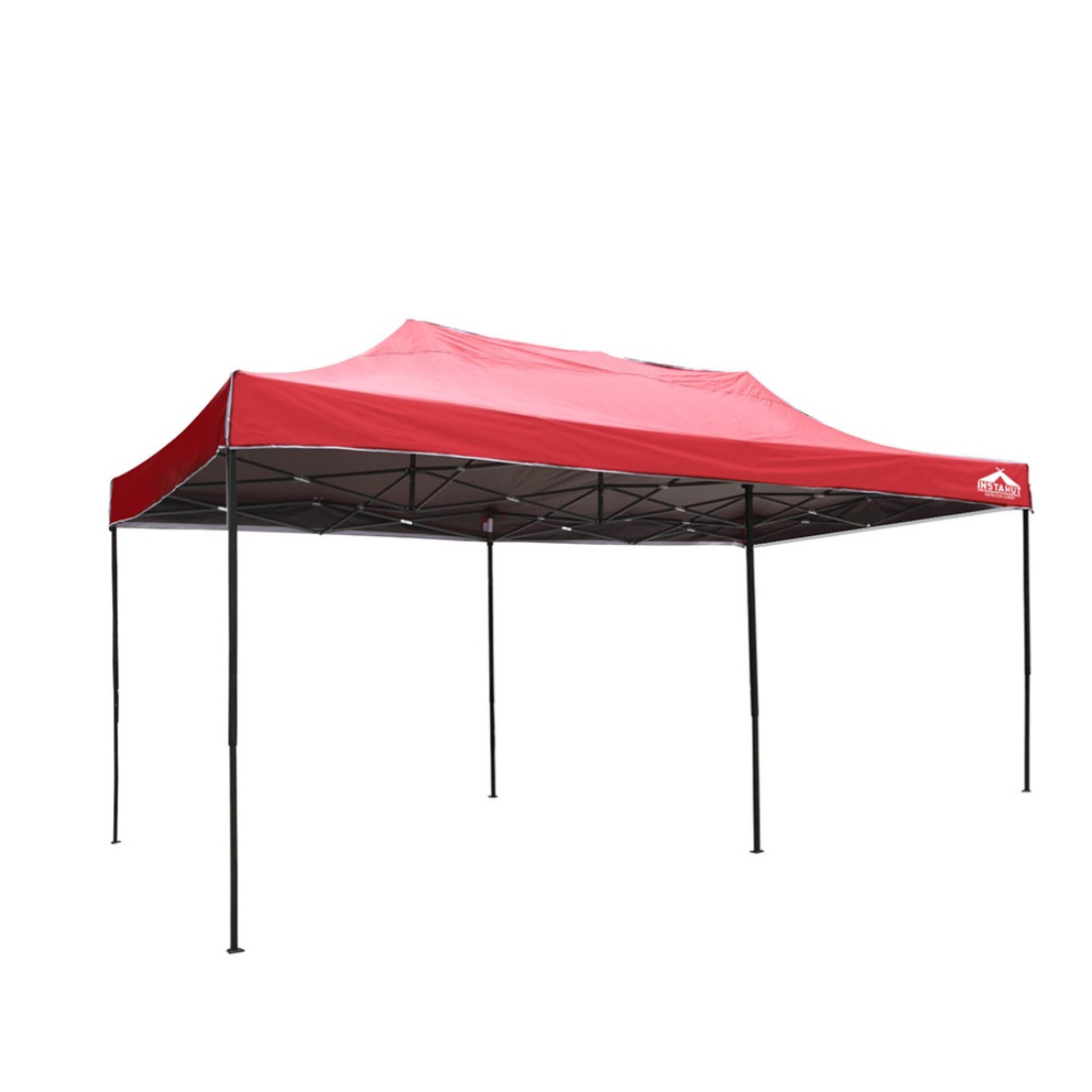 3m x 6m Pop-up Garden Outdoor Gazebo Red