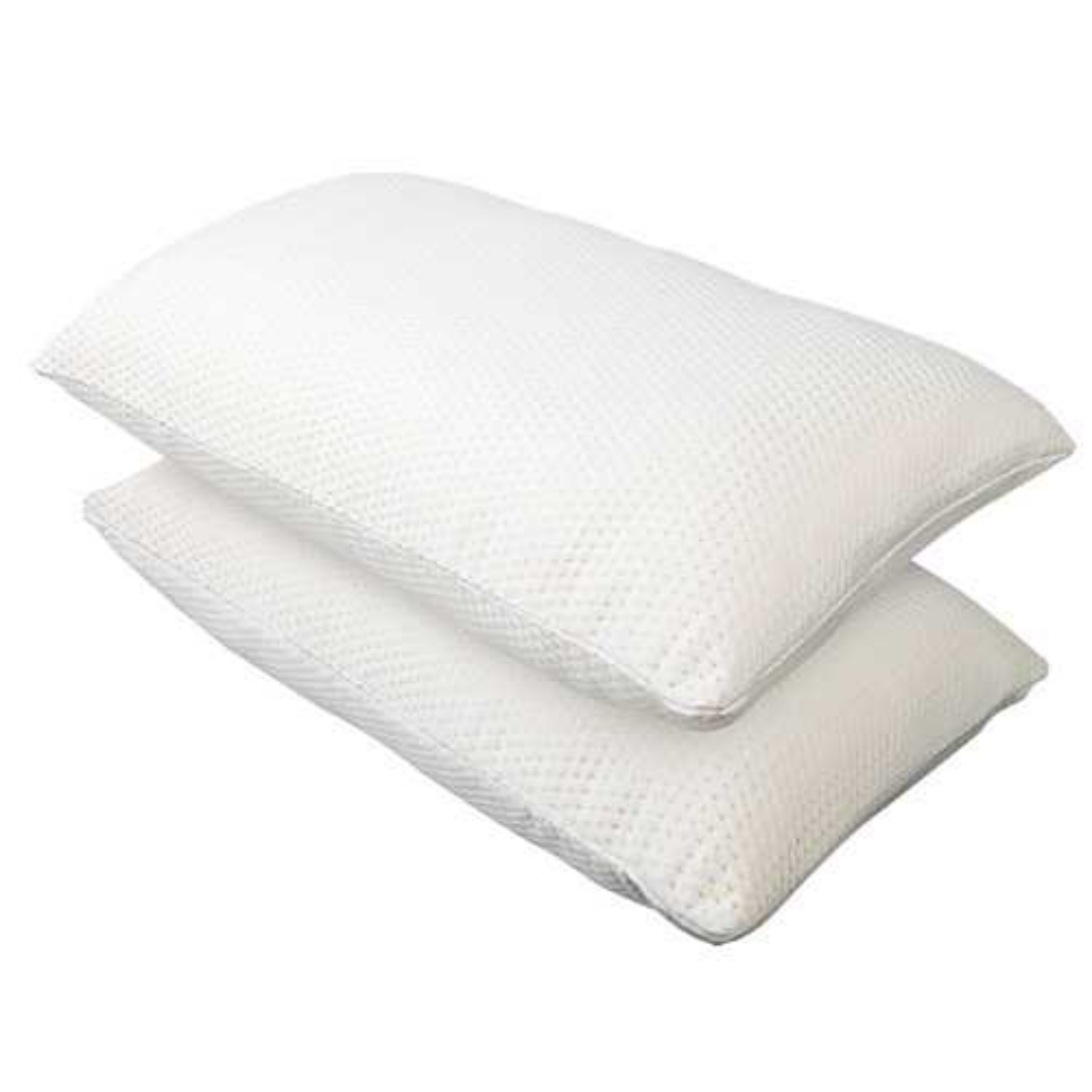 Set of 2 Memory Foam Pillows Contour Pillow