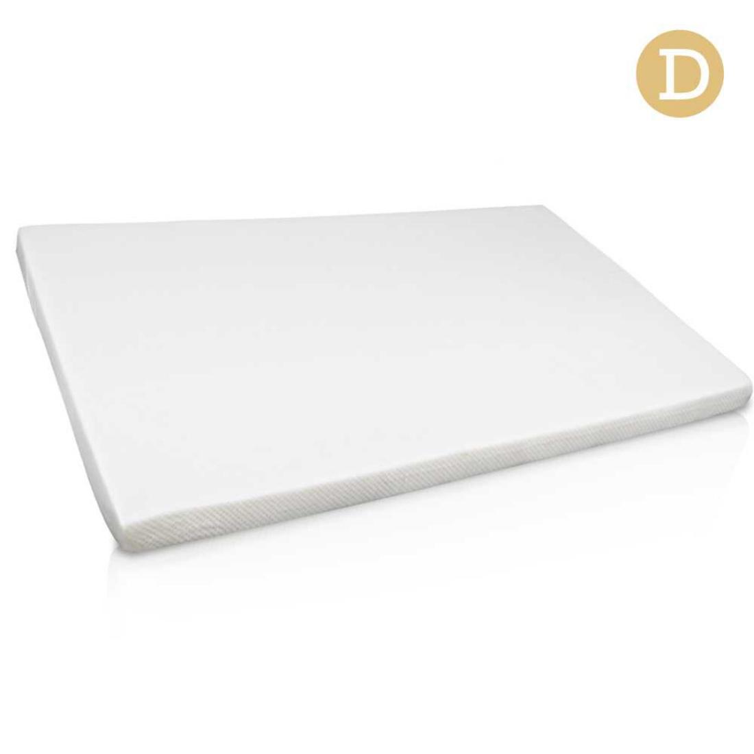 Visco Elastic Memory Foam Mattress Topper 7cm Double